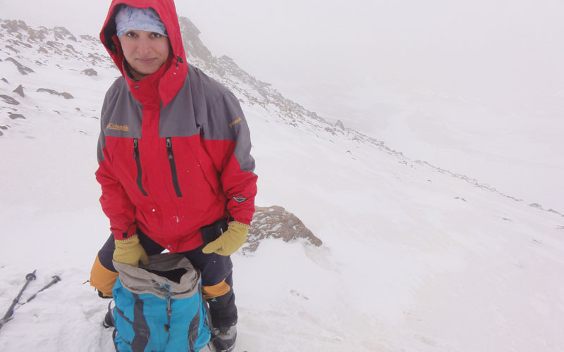 مسیر یخچال جنوبی دماوند