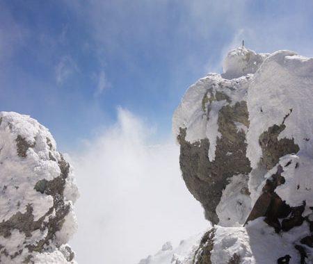 نمای زیبای قله دماوند
